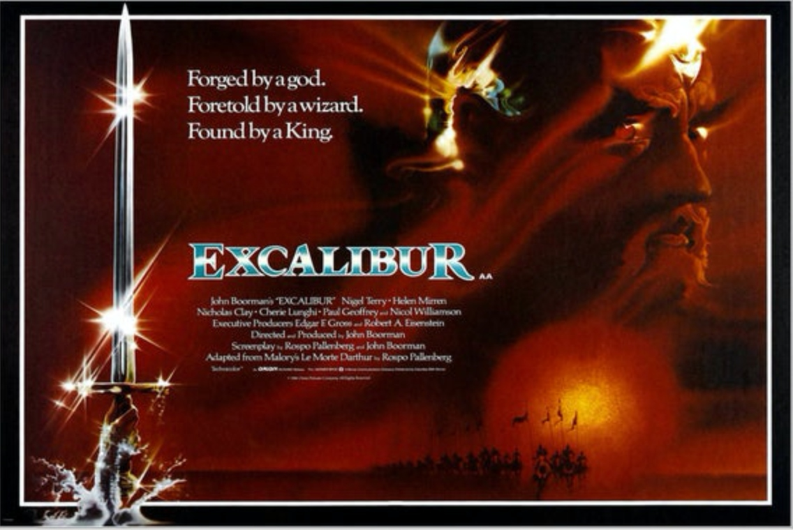 Excalibur movie one sheet